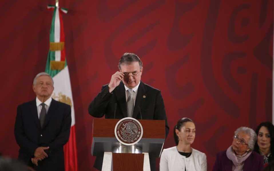 Ebrard: Clasificar cárteles mexicanos como terroristas no es negocio para EE.UU.