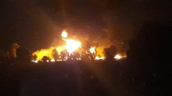 explosión Tlahuelilpan