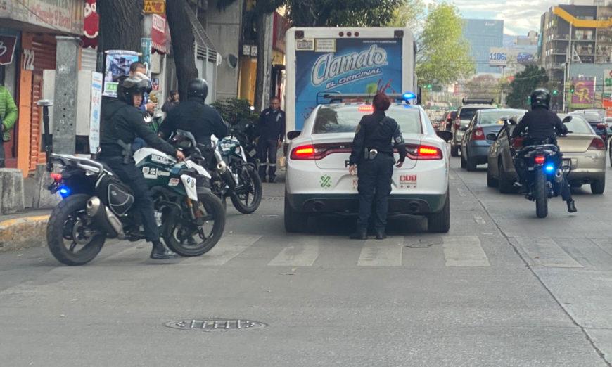 Policías de la CDMX agreden a mujer embarazada
