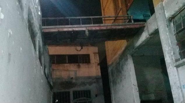 edificio de accidente de actores