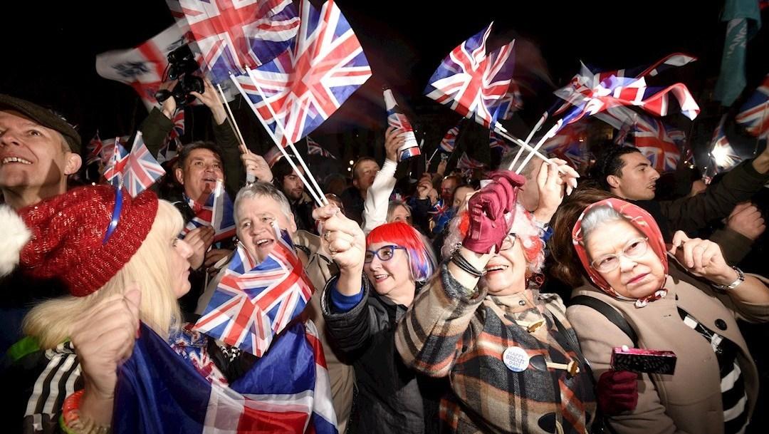 festejos por brexit