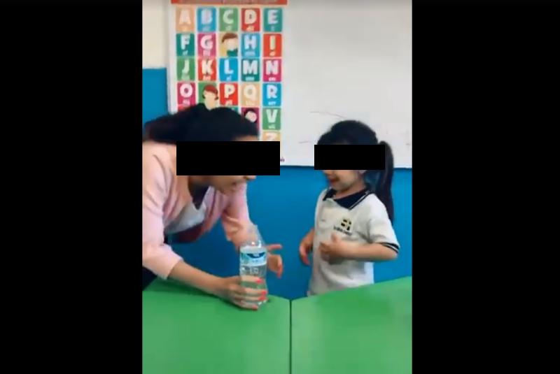 maestra de kinder