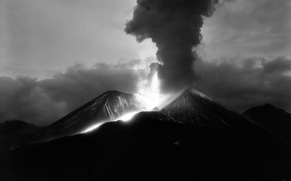 nuevo volcán
