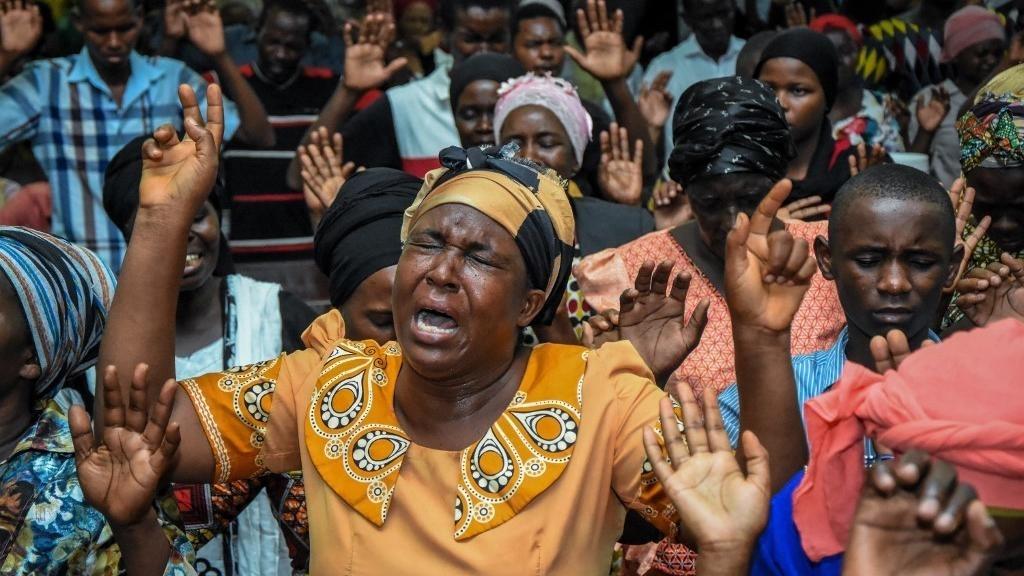 estampida en tanzania