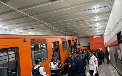 accidente metro