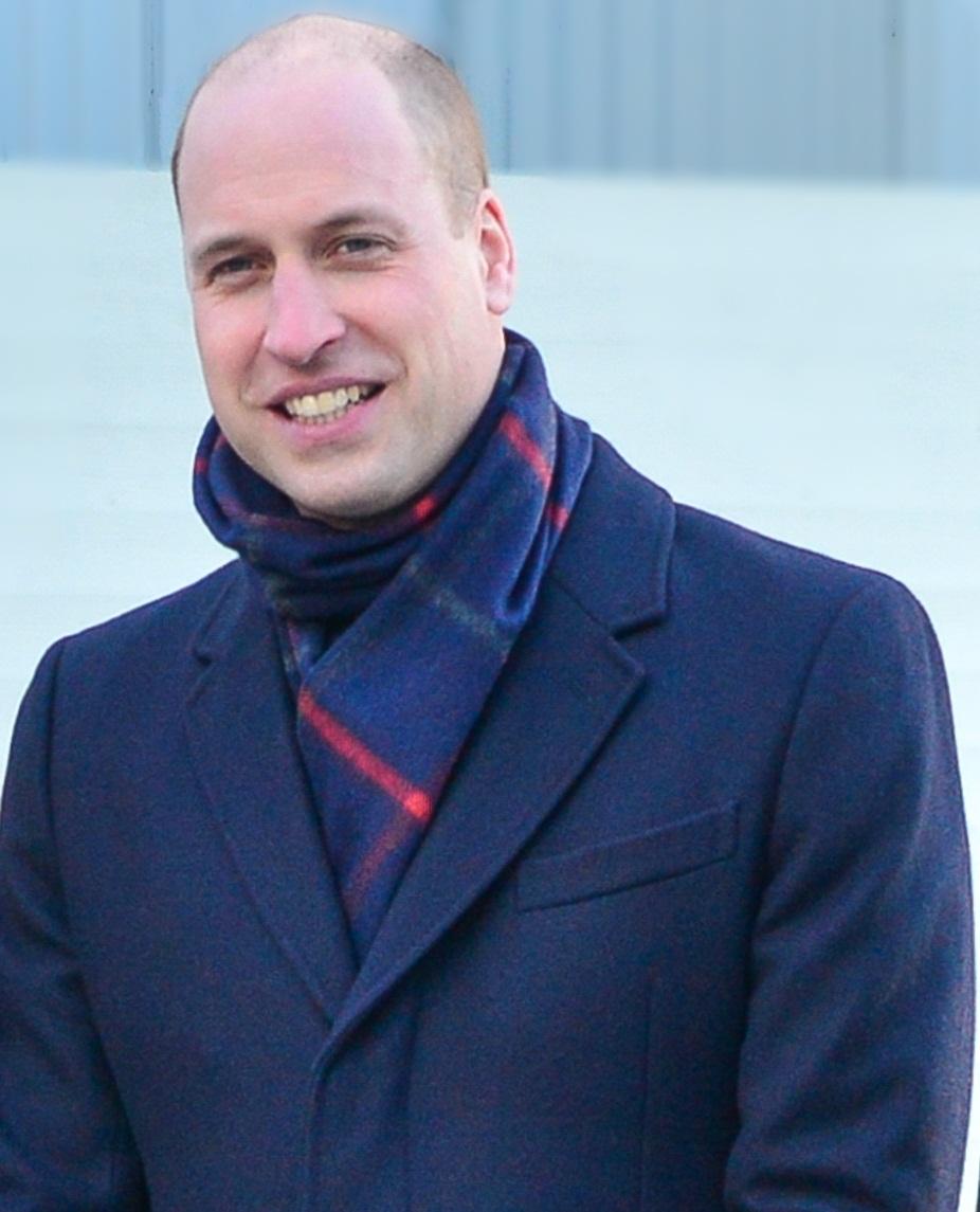 El duque de Cambridge, William,