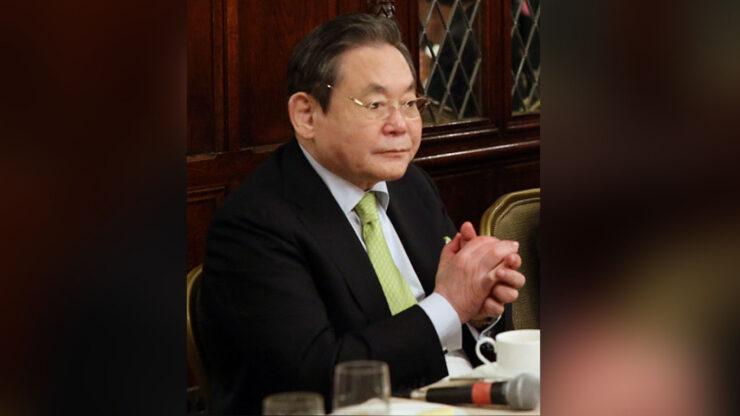 presidente de sansung