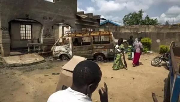 ataque en Congo