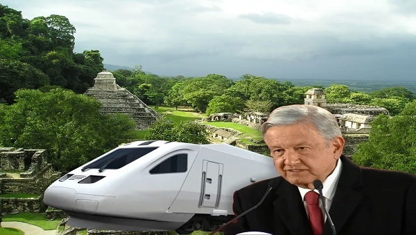 AMLO y tren maya