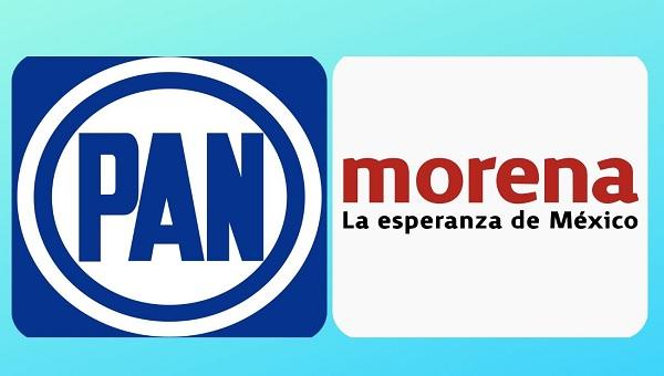 Morena y PAN